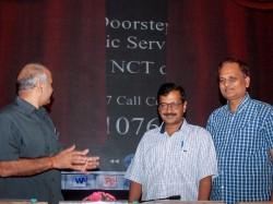 Delhi Cm Arvind Kejriwal New Scheme Door Step Delivery Recei