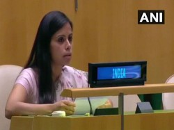 New Pakistan Cast The Mold The Old Says Eenam Gambhir At Un