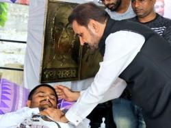 Ncp Leader Shaktisinh Gohil Came Meet Hardik Patel