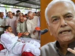 Yashwant Sinha Shatrughna Sinha Supported Hardik Patel