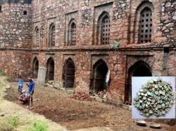 Medieval Era Coins Discovered At Khirki Mosque In Delhi