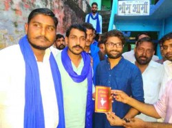 Jignesh Mevani Met Bhim Army Chief Chadrashekhar Plan Defeat
