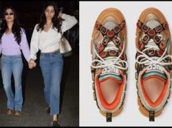 Janhvi Kapoor Steps In Rs 1 2 Lakh Shoes Gets Trolled Ugly C