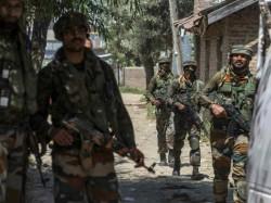 Encounter Between Terrorists Security Forces Is Underway Kul