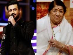 Lata Mangeshkar Not Happy With Atif Aslam Recreating Chalte
