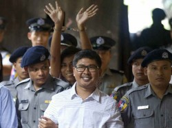 Myanmar Court Sentences Two Reuters Journalists 7 Years