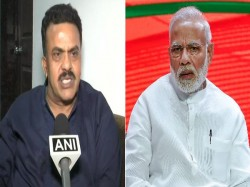 Pm Is Not God In Democracy The Words I Used Are Not Undignified Sanjay Nirupam