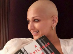 Sonali Bendre Shares Another Picture Her Bald Look Shows Fans What She Is Reading Right Now