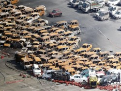 Jebi Typhoon Kills 9 Shuts Down Airport Japan
