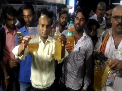 Lucknow Petrol Pump Mixing Water With Petrol Selling