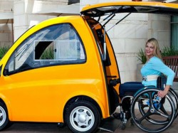Kenguru Worlds First Drive From Wheelchair Electric Car For Handicap People