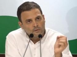 Rahul Gandhi Attacks Pm On Rafale Deal Shame On You Modi Ji