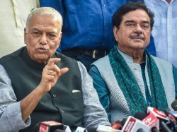 Yashwant Sinha Says Modi Government Has No Team It S Two Person Regime