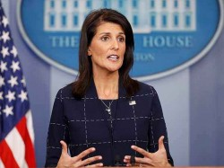 Nikki Haley Resigns As Us Ambassador The Un