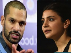 Dhawan Coudn T Got Place Squad Against Wi Because Anushka Sharma