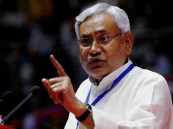 Slipper Hurled At Bihar Cm Nitish Kumar During A Programme In Patna