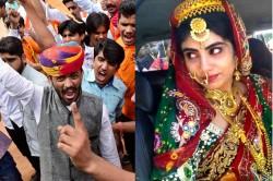 Ravindra Jadeja S Wife Rivaba Joins Karni Sena