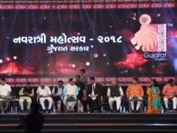 Cm Vijay Rupani Inaugurated Vibrant Navratri At Gmdc Ground