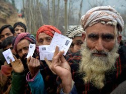 First Phase Voting Local Body Polls Jammu Kashmir Today