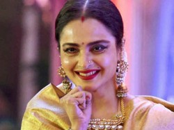 Happy Birthday Rekha S First Forceful Kiss 5 Minute At The Age Of 15 Said Her Autobiography