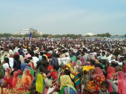 Sc St Community Has Make Samelan Land Demands Gandhinagar