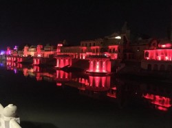 Cm Yogi Adityanath Plan Ayodhya May Announce 100 Meter Tall