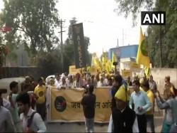 Farmers Protest Delhi Live Updates March Demand Msp Debt Relief Ramlila Maidan