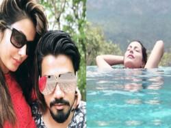Hina Khan Romance With Boyfriend Rocky