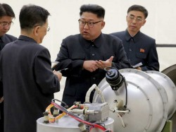 North Korean Media Says Leader Kim Jong Un Observed Successful Test Of Unspecified Tactical Weapon