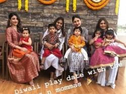 Taimur Ali Khan Kareena Kapoor Soha Ali Khan Pre Diwali Cele