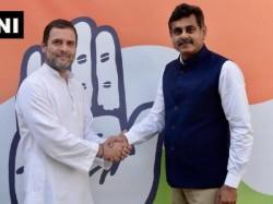 Telangana Mp Vishweshwar Reddy Who Resigned From Trs Meets Rahul Gandhi