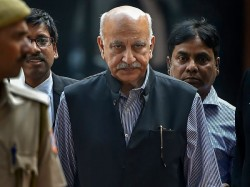 Metoo Mj Akbar Accused Rape Sexual Harassment Former Asian Age Editor