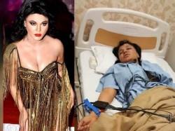 Rakhi Sawant Injured After Wrestler Throws Him On Ring Floor