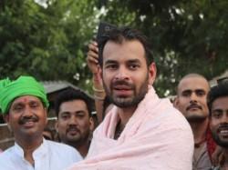 Tej Pratap Yadav Gives New Tension Nitish Govt