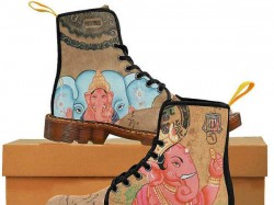 Upset Hindus Urge Hawaii Firm Withdraw Lord Ganesha Shoes Apologise