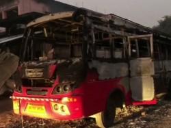 Naxal Attack In Bihar Aurangabad Many Vehicles Set Ablaze