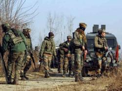 Jammu Kashmir Encounter Underway Between Terrorists Security Forces Tral Pulwama
