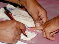 Live Jasdan Bypolls Voting Started