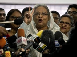 Bangladesh Elections Pm Sheikh Hasina Set Return Power Third Term