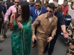 Rajasthan Priyanka Chopra Nick Jonas Leave From Jodhpur Couple Tied Knot At Umaid Bhawan