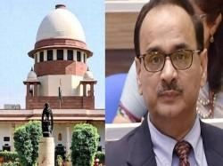 Cbi Vs Cbi Hearing Supreme Court On Alok Verma S Plea