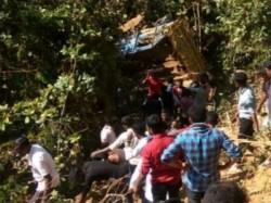 Killed As Mini Truck Falls Off Poiguda Ghat In Kandhamal Odisha