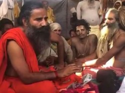 Baba Ramdev Reached Kumbh Did This Special Appeal Naga Baba