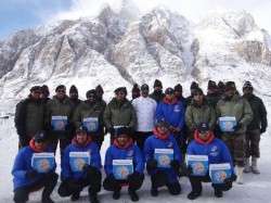 Domino S India Delivers Pizza To Soldiers In Siachen