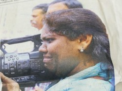 Sabarimala Video Journalist Threatened Protesters Crying Shajila Continues To Do Her Work