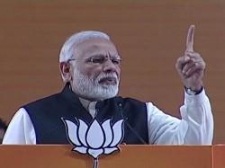 Pm Narendra Modi Addressing Bjp National Convention Held Delhi
