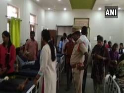 Telangana 67 School Girls Hospitalised Due To Stomach Ache Vomiting