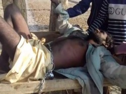 Father Locked His Son On The Cart His Mental Illness Agra