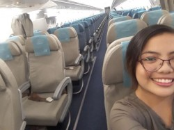 Woman Experienced Chartered Plane A Commercial Plane As There Was No Other Passenger