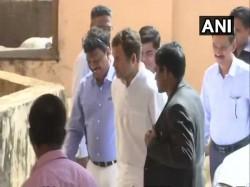 Rahul Gandhi Meets Manohar Parrikar Day After Rafale Secret Attack